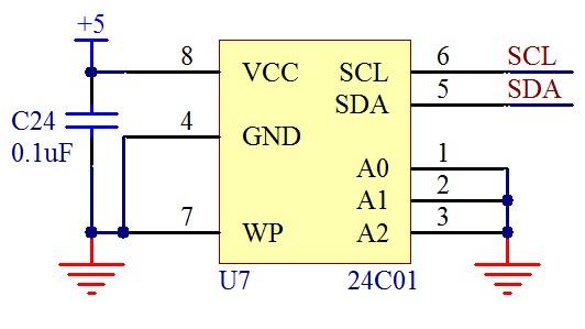 如何采用单片机访问EEPROM的地址