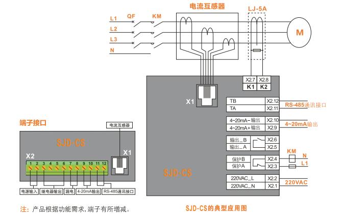 SJD-CS系列电动机智能监控器使用手册免费下载