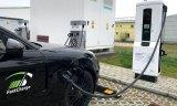 宝马和保时捷在内的一个快速充电联盟发布了一款快速充电桩