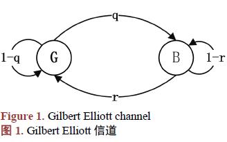 三状态Markov链模型如何进行多跳ARQ协议吞吐量的分析