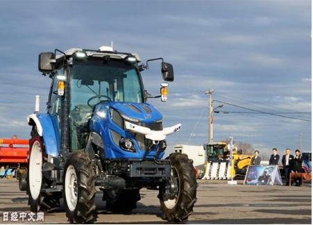 日企发布首款机器人拖拉机 提高了农业生产率