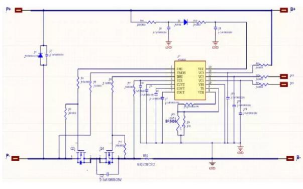 HTL6033用于3串锂电池或聚合物电池的保护芯片的数据手册免费下载