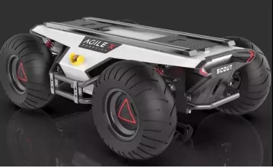 松灵机器人的最新款产品AGV面市 外观类似遥控小车