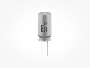 TDK开发出新系列爱普科斯单端引线式铝电解电容器