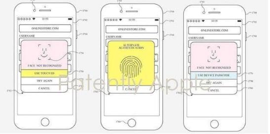 苹果新专利与生物识别long88.vip龙8国际有关