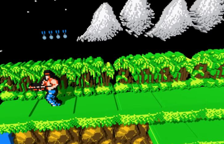 VR版NES模拟器来了,支持超级玛丽、魂斗罗