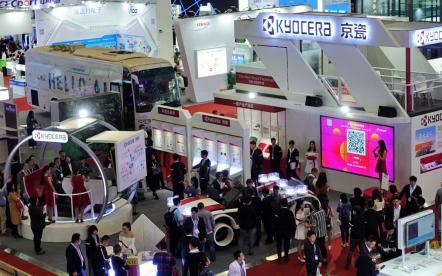 2018深圳国际电子展:车载多种产品亮相,京瓷凸显综合技术实力