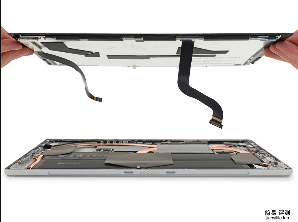 微软SurfacePro6高清拆解图赏