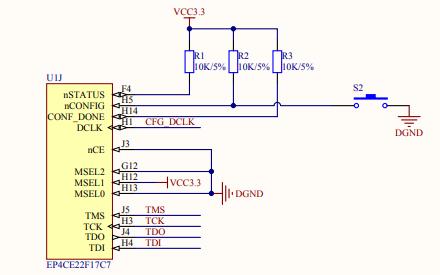 SF-HSC开发板的详细电路原理图资料免费下载