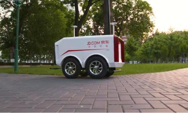 下一代交付机器人将融合AI技术 机器换人创造物流...