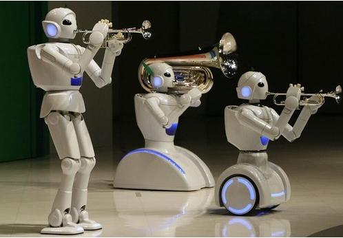 机器人市场在不断壮大中 我们要做的是赢得市场的认...