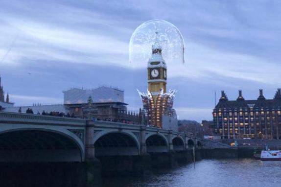 Snapchat利用AR技术让游客有机会看到大本钟的照片