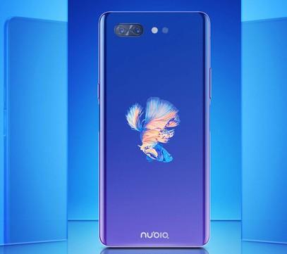 努比亚X海光蓝版本正式开售双屏设计视觉效果极为出色