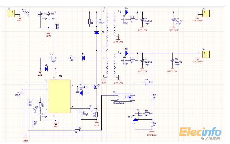 开关电源反激变压器计算公式表