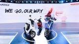 本田发布首款锂电池电动摩托V-GO
