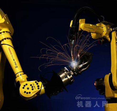 中国走上工业自动化的道路 工业机器人代替人力劳动...