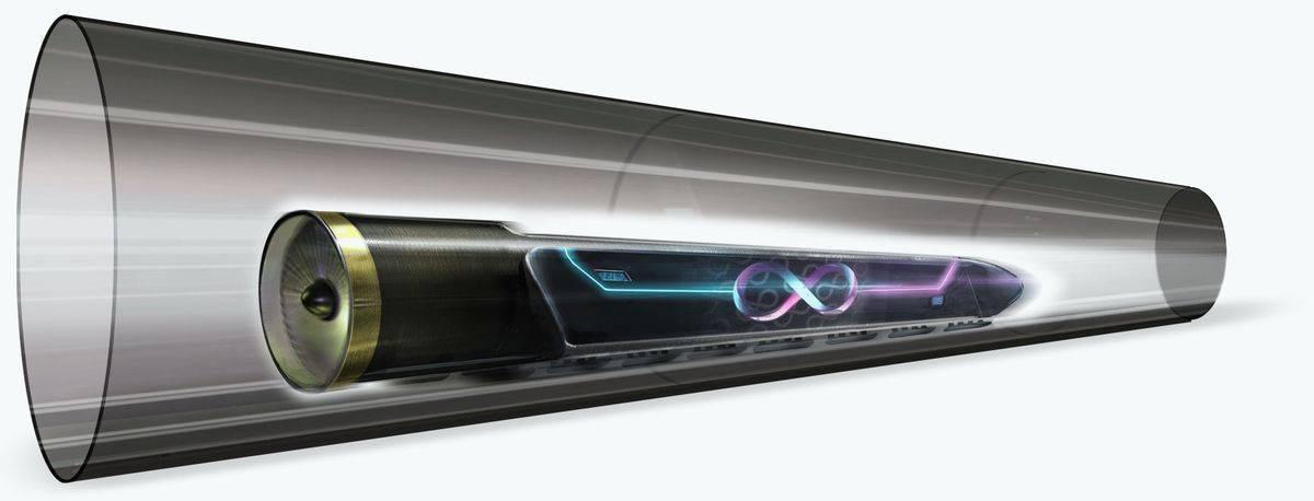 中国将修建第一条10公里长的超级高铁 即成为第五种交通方式