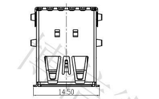 Allegro PCB双层USB3.0封装图和尺寸图资料免费下载
