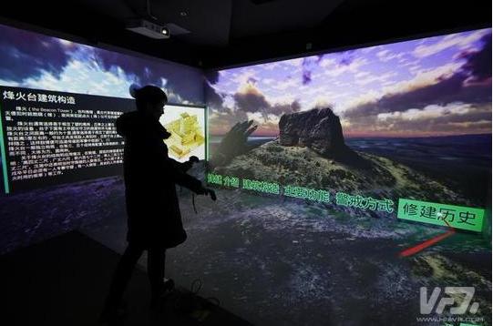 西大首个使用VR技术再现考古场景的教学模式 让师生在校VR体验考古
