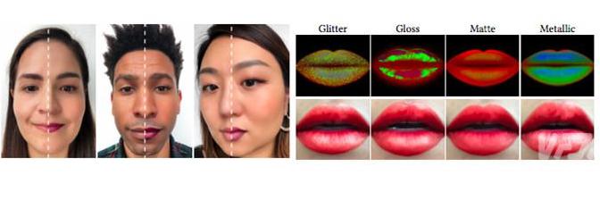 一种能将AR彩妆自然叠加在人脸上美妆滤镜可以模拟彩妆师化妆技巧
