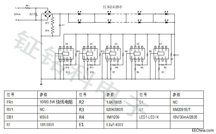 高压线性恒流芯片LK2085能否给LED软灯条行业带来转机?