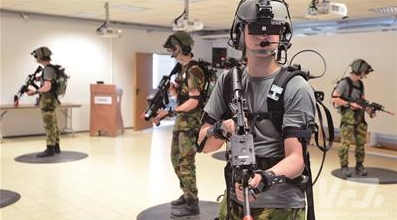 虚拟训实在军事上的应用价值巨大 给受训者带来强烈代入感