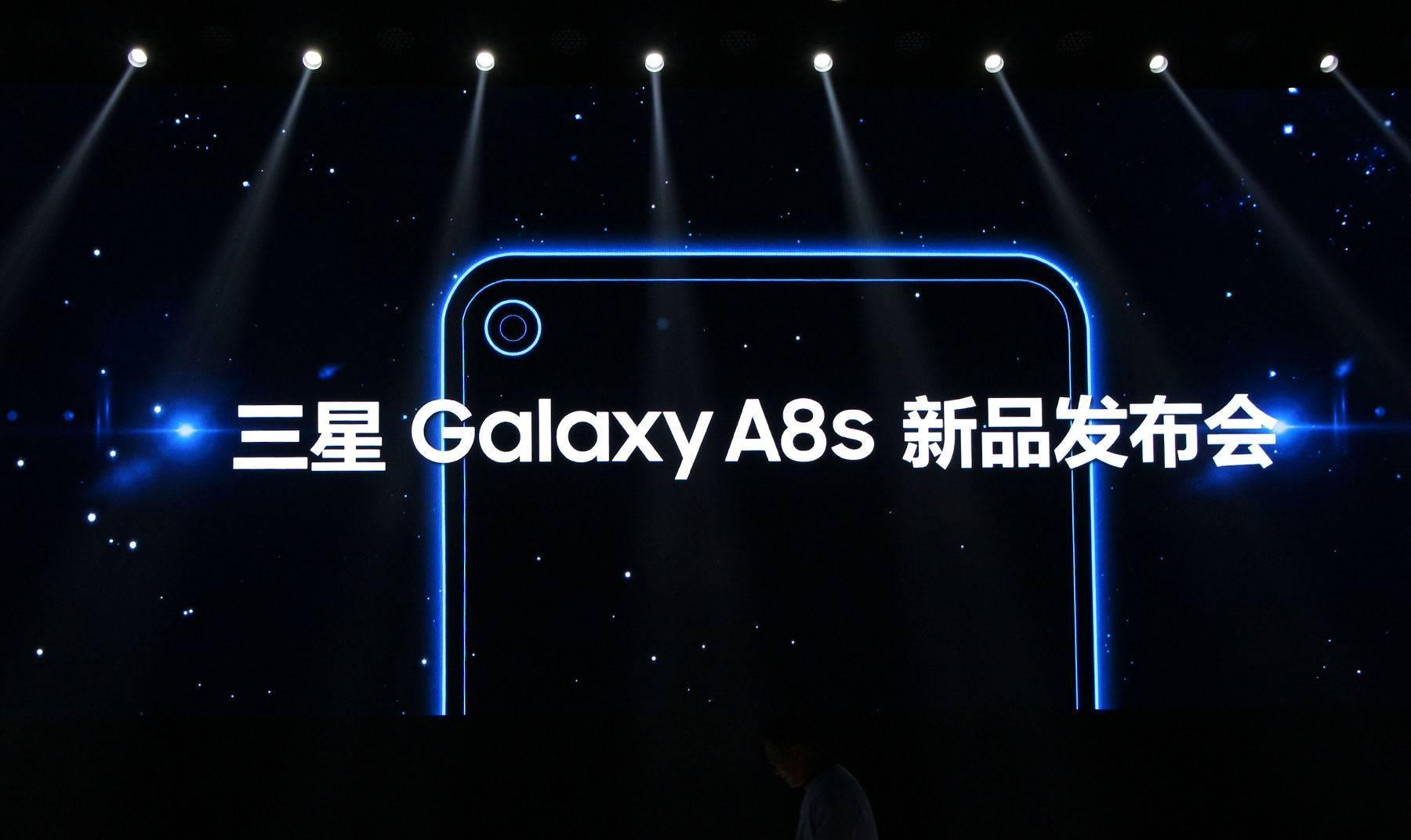 三星GalaxyA8s现场高清图赏