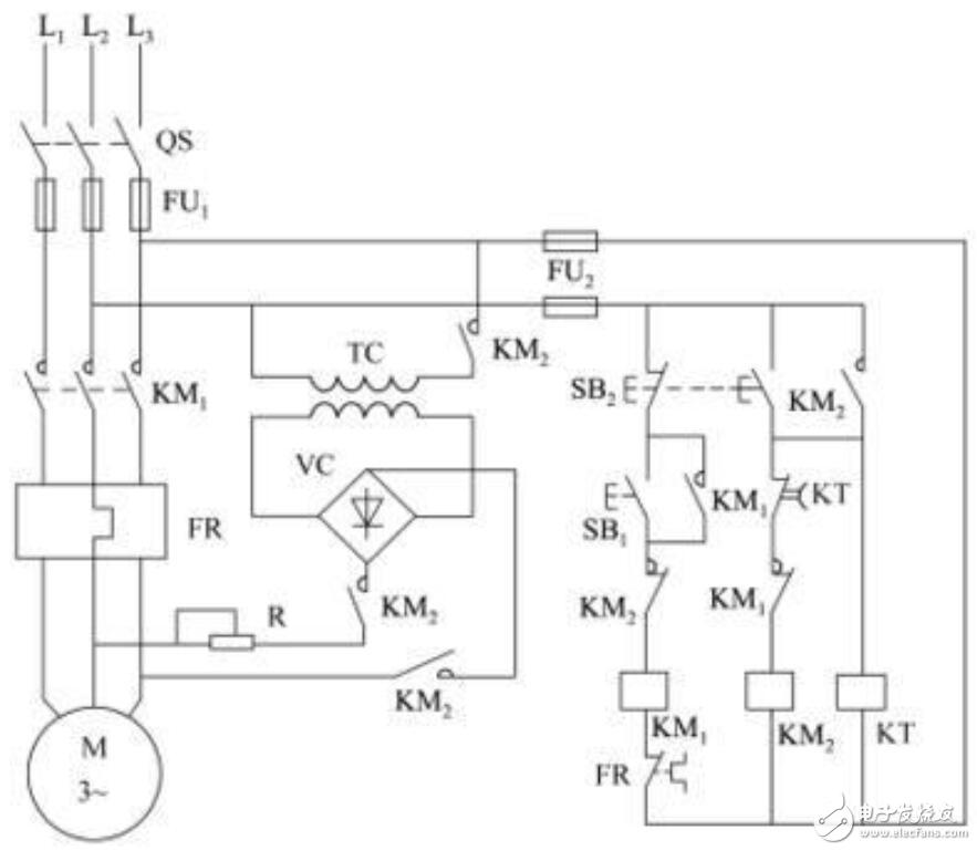 三相异步电动机能耗制动原理