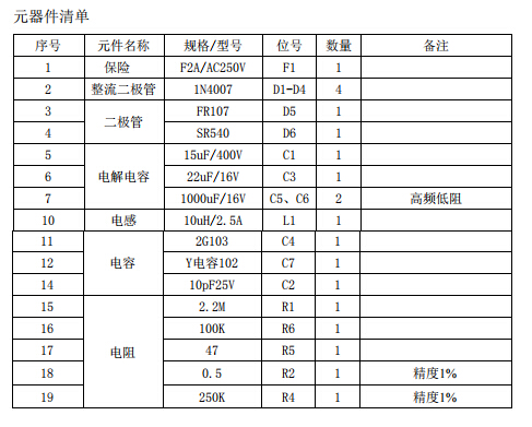 开关电源控制ICDK912原边反激式电源成熟方案...