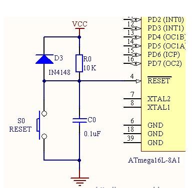 avr单片机硬件线路的设计步骤及方法