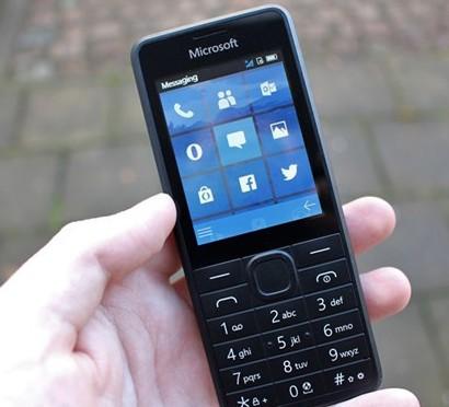 微软推出一款神秘功能机手机UI神似诺基亚Lumia手机