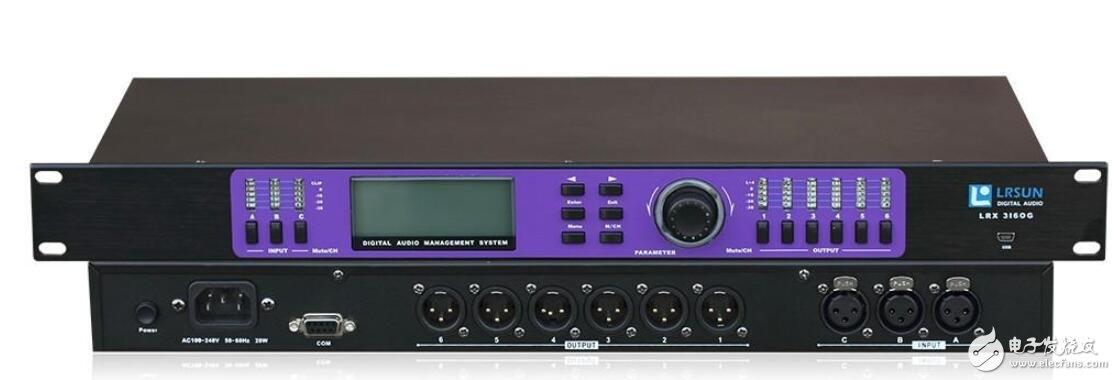 數字音頻處理器的正確使用方法及步驟