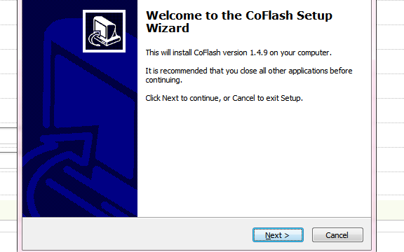CoFlash 1.4.9应用程序软件安装包免费下载