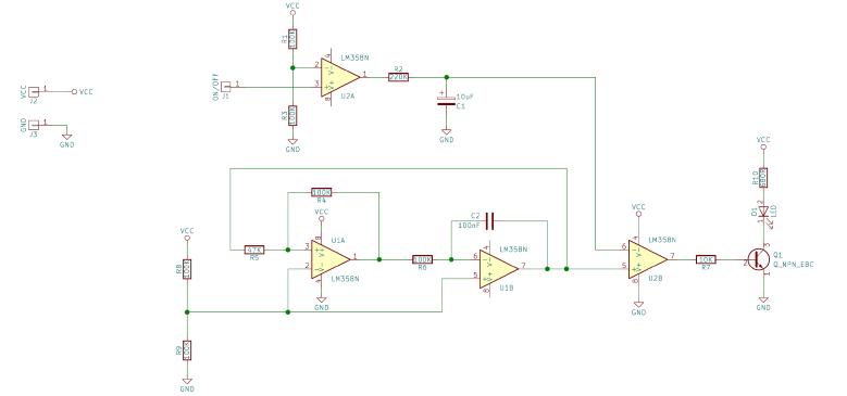 LED模拟白炽灯的缓慢打开和关闭电路设计