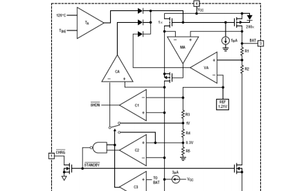 XT4051单片锂离子电池恒流和恒压线形电源管理芯片数据手册免费下载