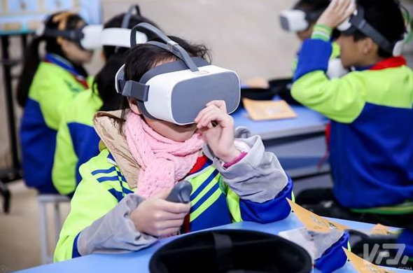 利用VR技术进行儿童防灾减灾科普 让安全教育走近儿童身边