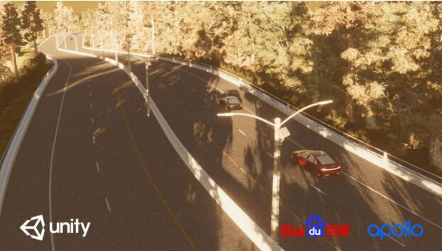 百度与Unity合作,利用虚拟仿真场景测试自动驾...