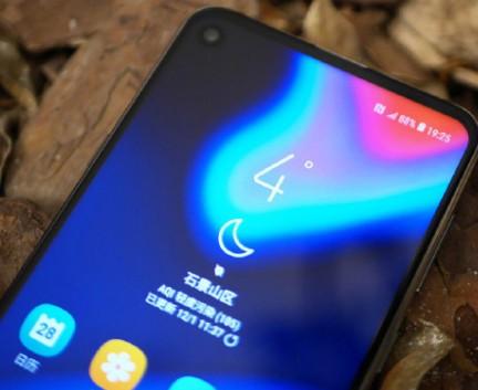 全球首款挖孔屏机型三星Galaxy A8s正式预售