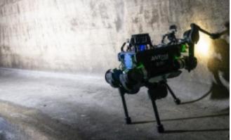 NYmal机器人深入地下 开始检查下水道工作