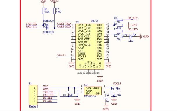 ATK-HC05蓝牙串口模块使用手册资料免费下载