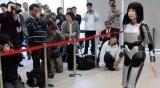 """日本成功的创造出了一款人工智能""""美女机器人"""""""