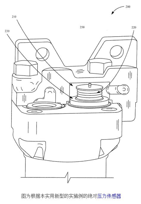 压差变送器及绝对压力感测系统和连接到压差变送器的转换机构