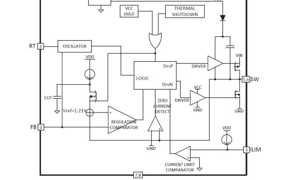 HX1304G高压输入电源的同步降压调节器的数据手册免费下载