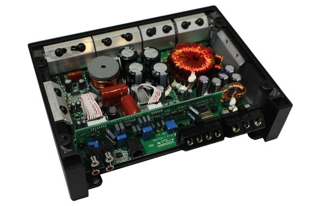 100W数字功放PCB板原理图