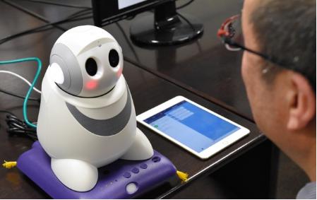 日本长崎大学开发出一套系统 能利用机器人发现老年...