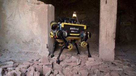 苏黎世联邦理工学院利用四足机器人ANYmal开启...