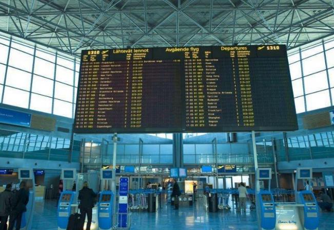 芬兰机场使用5G网络机器人为乘客服务