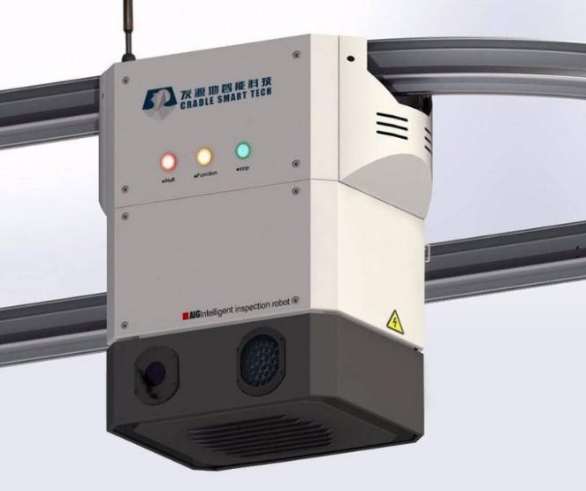 轨道自动巡检机器人亮相上海 加强立交设施养护管理