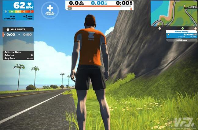 Zwift获1.2亿美元融资 将打造VR健身模拟解决方案