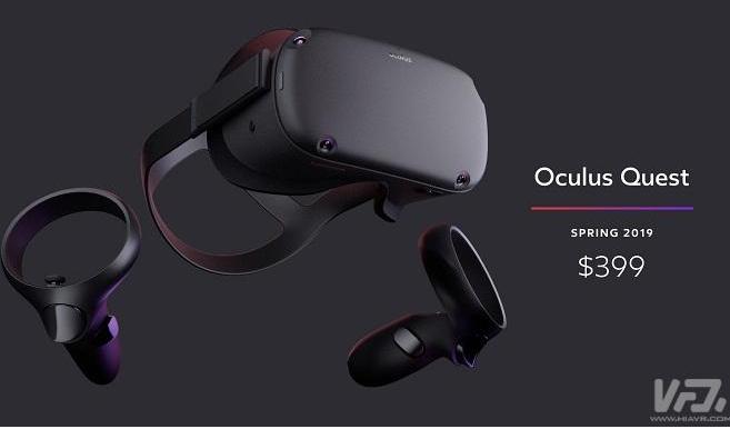 Oculus Quest VR头盔获得FCC认证 意味着距离上市更进一步